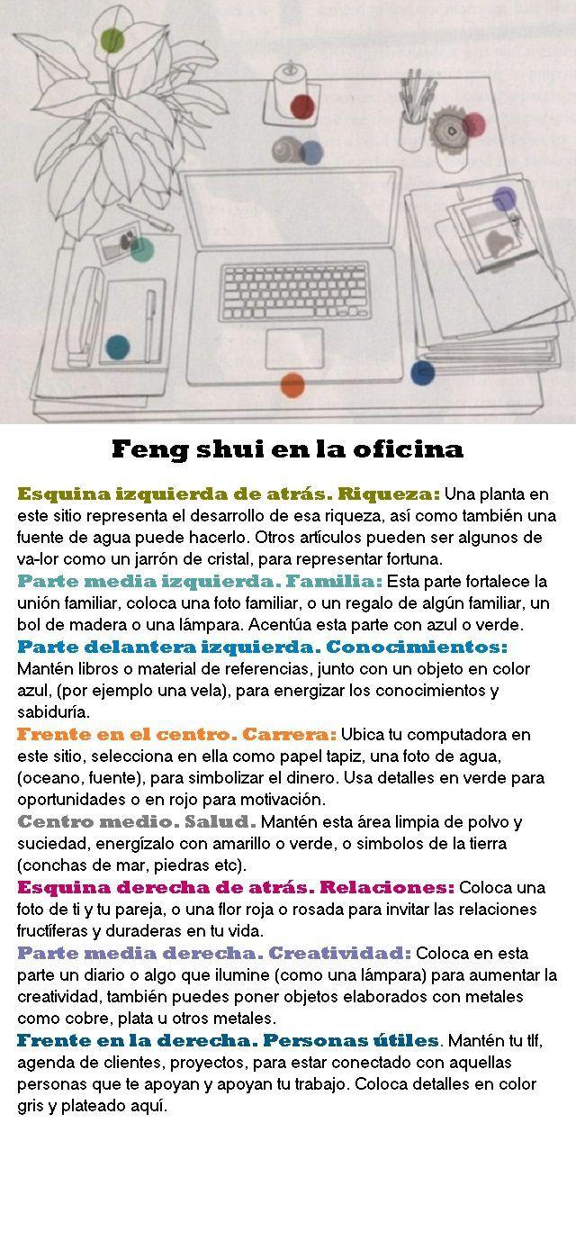 feng shui en el escritorio de tu trabajo