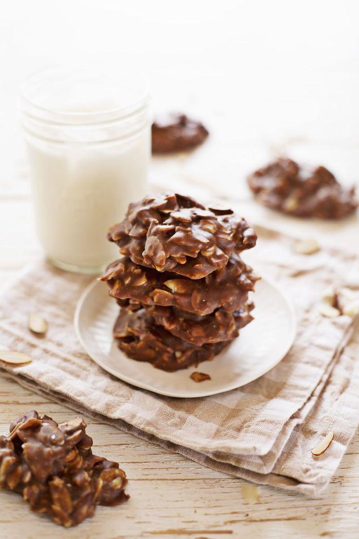 Chocolate no-grain no-bake cookies