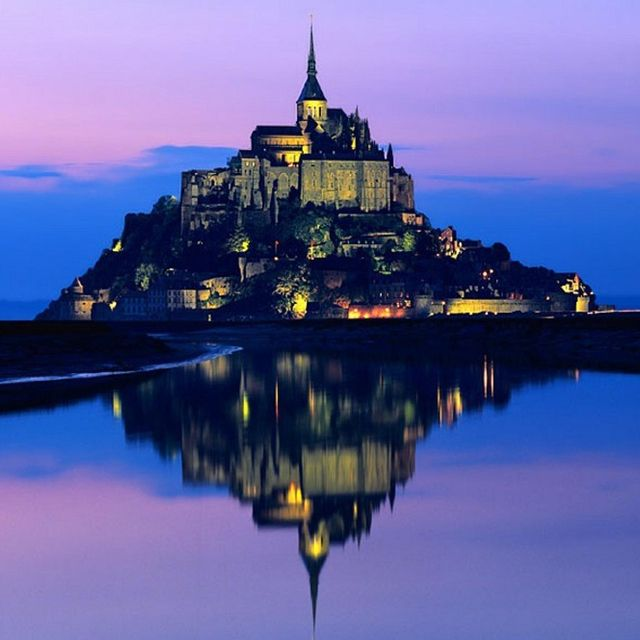 Mont Saint Michel. We miss France for places like this one...