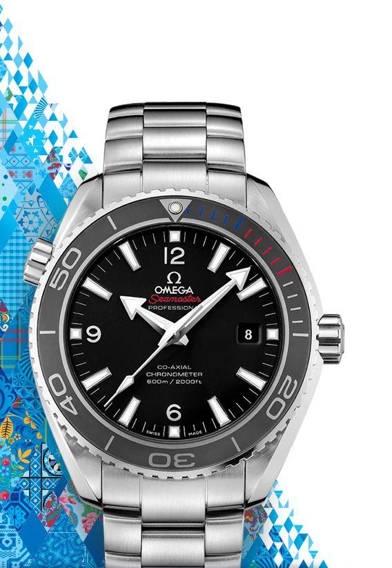 La Cote des Montres : Montres Omega : Collection Olympique Sotchi 2014 Seamaster - Célébration de la beauté du sport à Sotchi