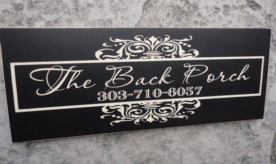 Custom Business Signs | Business Sign, Personalized, Custom Business Advertisement, Logo Sign ...