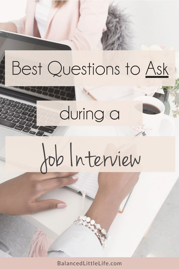 Don't make the mistake of not asking questions during an interview. Use this list of best questions to ask during a job interview! #BossLady #GirlBoss