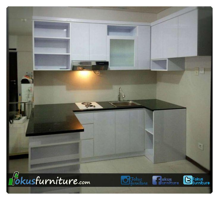 Kitchen set apartemen niffaro