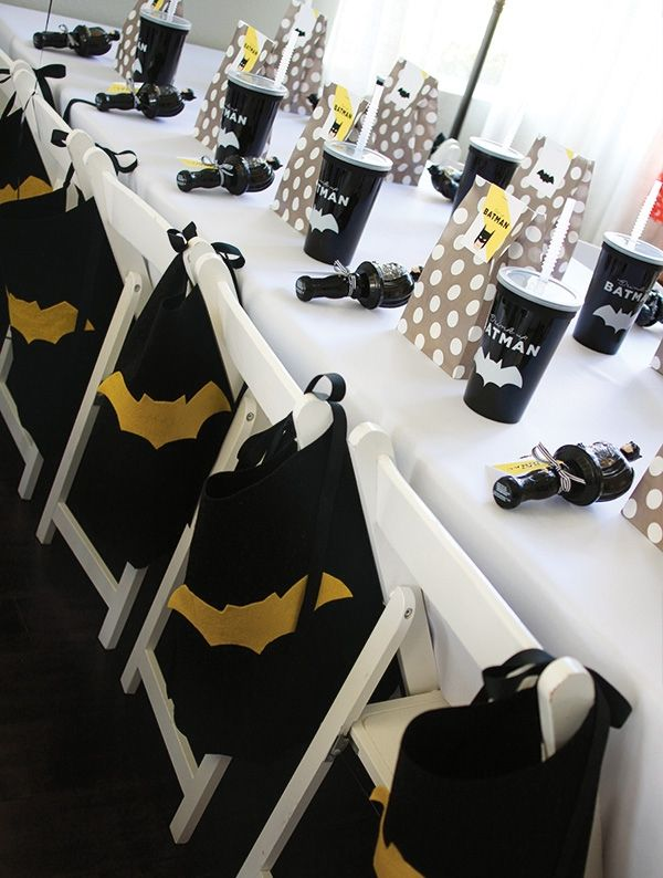 Boys Batman Party Favor Ideas