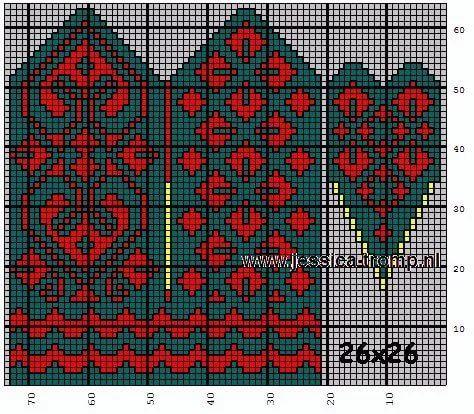 Схемы варежек: 14 тыс изображений найдено в Яндекс.Картинках