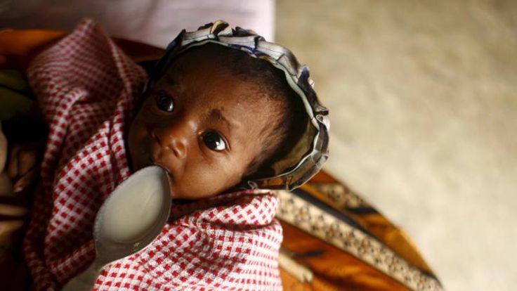 Afrikaanse kinderen in gevaar door El Nino