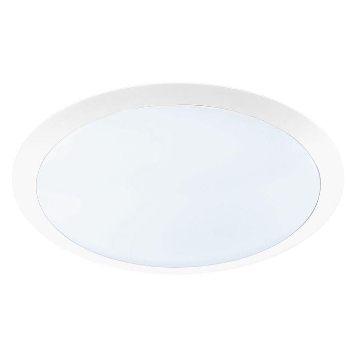 LED-Deckenleuchte - Weiß - 1x25 W, Trio   Lampen > Deckenleuchten > Deckenlampen   Weiß   Kunststoff   Trio