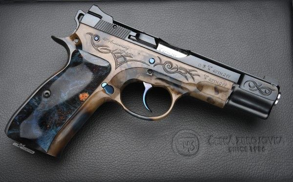 CZ 75 B 40th Anniversary CUSTOMLoading that magazine is a pain! Get your Magazine speedloader today! http://www.amazon.com/shops/raeind