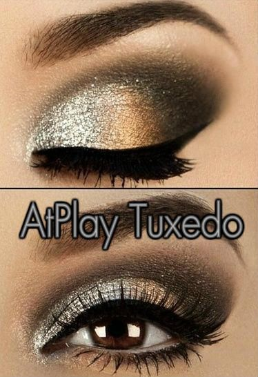 Party makeup!   Get this look with Mary Kay AtPlay Baked Eye Trio in Tuxedo. SHOP NOW:www.marykay.com/vcarretta