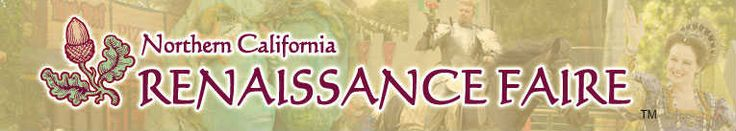 Northern California Renaissance Faire-Weekends, Sept 14 thru Oct 13 #festivals