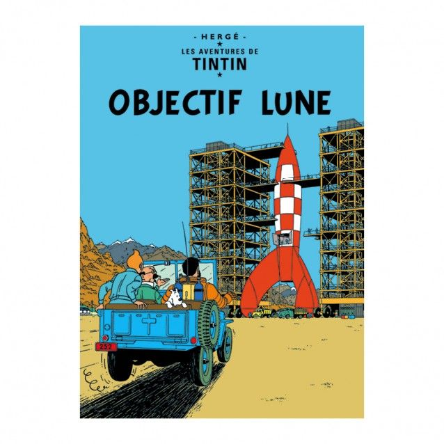 Objectif Lune – Poster