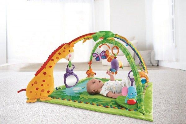 Die Rainforest Erlebnisdecke von Fisher-Price ist eines der wenigen Babyspielsachen, auf die sogar große Geschwister neidisch sind.