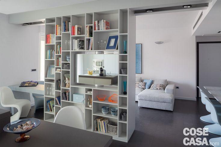 75 mq una casa con geometrie in bianco e nero