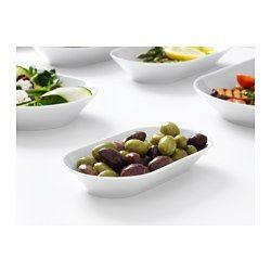 IKEA - ИКЕА/365+, Блюдо, Тарелка изготовлена из прочного полевошпатного фарфора.Эта практичная столовая посуда классического дизайна подойдет для ежедневного использования и сервировки любых блюд и напитков.Практичный дизайн этой столовой посуды позволяет ставить предметы меньшего размера в большие, что обеспечивает компактное хранение.