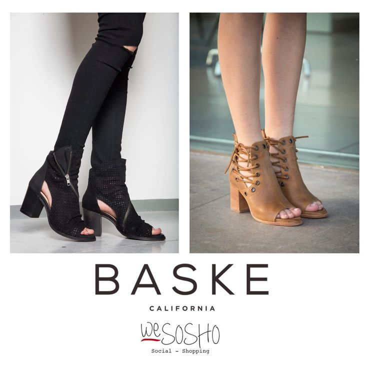 WeSOSHO EXCLUSIVE, BASKE! Comfortable footwear with an effortless style and a spirit of wanderlust. Just the perfect booties with #californiavibe soul. Shop at wesosho.com #wesosho #weglobetrotter #weamerican