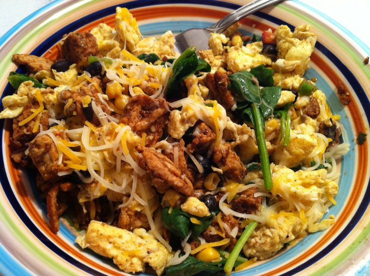 healthy protein-packed recipe! Egg Scramble Good for: breakfast ...