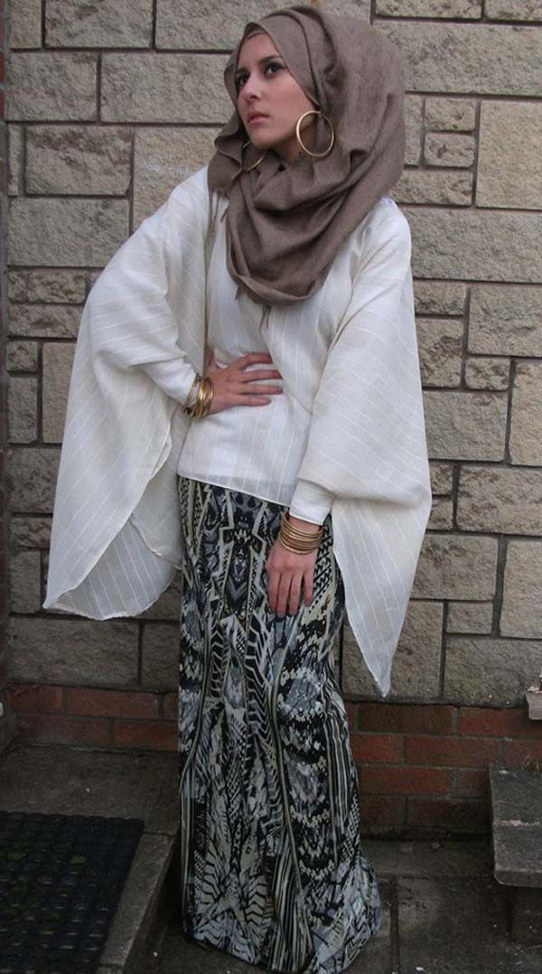 Dina Toki-O hijab fashion 2013 inspirations