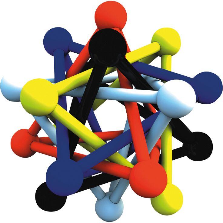 """Jucăria educativă """"Galaxy"""" alimentează imaginația copilului tău și îi dezvoltă dexteritatea și creativitatea. Se pot construi piramide simple sau structuri complexe. Creativitatea nu are limite cu această jucărie!"""