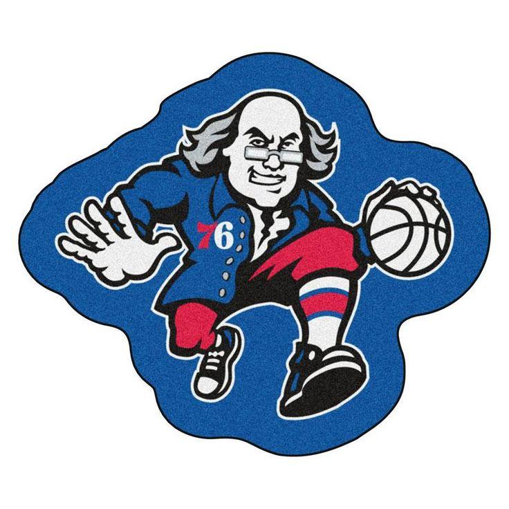 Philadelphia 76ers Team Mascot Accent Rug Ilustraciones