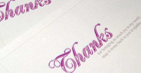 Give thanks with a free printable thank you gift | Oh My! Handmade