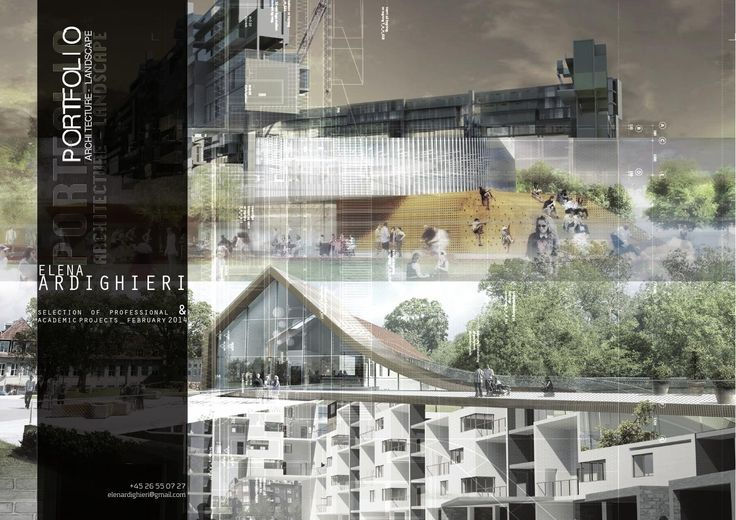 Portfolio 2014 _ architecture & landscape selection of professional & academic projects