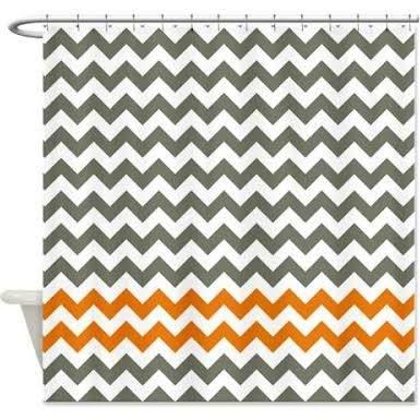 17 best ideas about Orange Shower Curtains on Pinterest | Bohemian ...