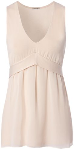 Wide-Shoulder Tank-Top with Georgette - Intimissimi