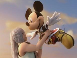 Riku and Mickey- Kingdom hearts 2