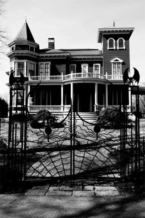 The home of Stephen King in Bangor, Maine.