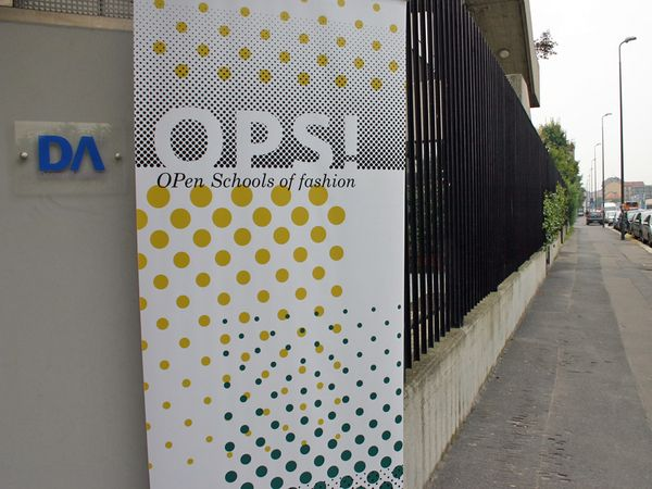 "Event identity: ""OPS! Open Schools of Fashion"" on Behance"