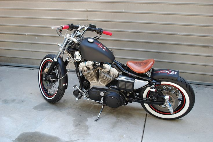 Nice work on this '94 Harley Sportster 883 Bobber by Chappell Customs... A few little mods and I'd take it.