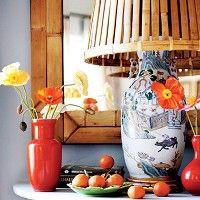 Bright Idea: 9 Surprising Lampshade Alternatives-love the wastebasket idea!