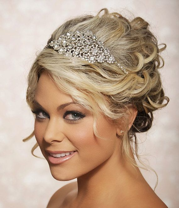 how to make a hair piece for a wedding