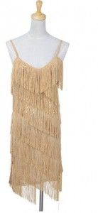 ANNA-KACI WOMEN'S SEQUIN FRINGE 1920S FLAPPER INSPIRED PARTY DRESS