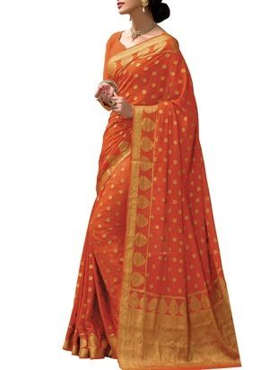 Check out what I found on the LimeRoad Shopping App! You'll love the orange Crepe Silk saree . See it here http://www.limeroad.com/products/10046469?utm_source=cf8863ad08&utm_medium=android