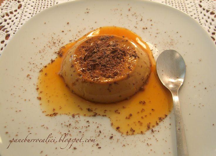 Pane, burro e alici: Budino al caffè con caramello al Marsala