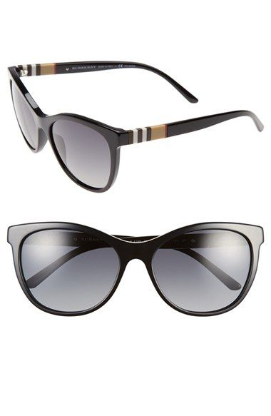 Burberry 58mm Polarized Sunglasses available at #Nordstrom