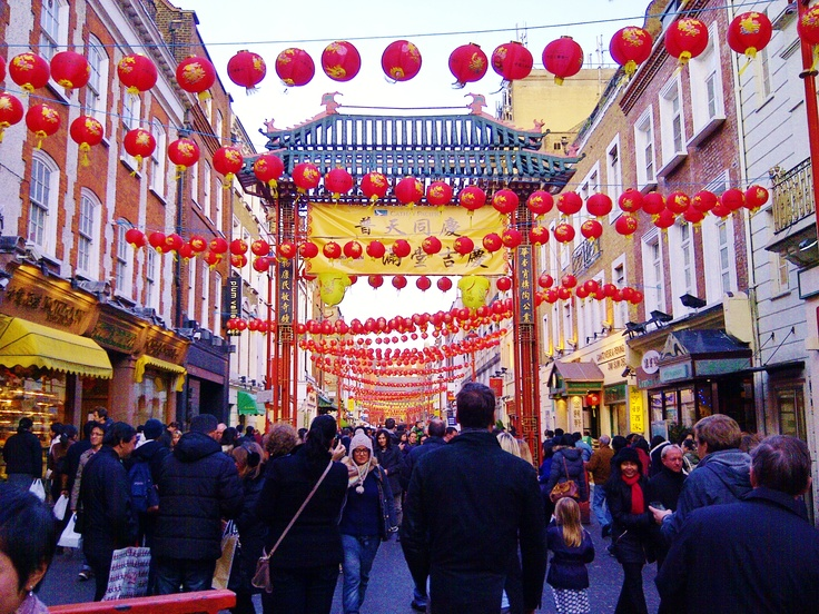 Chinese New Year, China Town, London