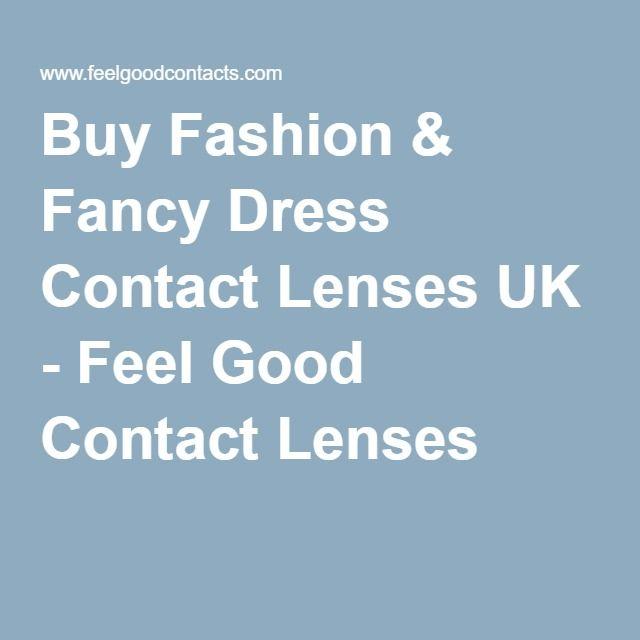 Buy Fashion & Fancy Dress Contact Lenses UK - Feel Good Contact Lenses