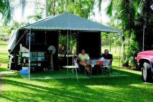 Cairns Camping - Powered Grass Site