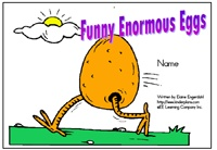 """Alphabet Sight Word Reader  Funny Enormous Eggs - """"Ee"""" Focus Letter"""