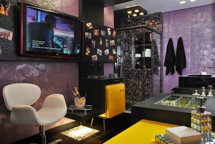 Frigobares invadem a decora��o de quartos, salas e home offices!