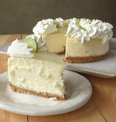 Key Lime Cheesecake Copy Cat Cheese Cake Factory - The cheesecake tastes…