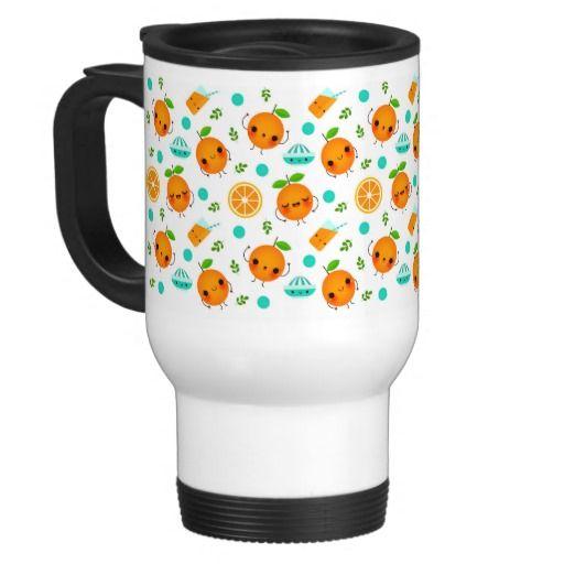Oh lala Orange - Travel Mug