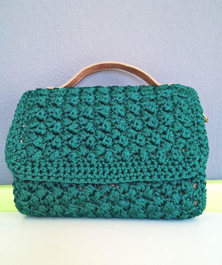 Tote Bag, Handmade Bag, Croshet Bag,Leather handbag, Evening Bag, Purse Bag, Handle Bag, Knitting patterns, Gift for women, Suitcase, Lunch by FeMiGR on Etsy