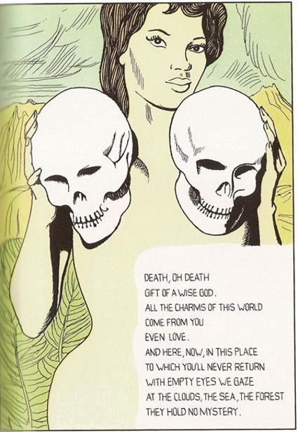 Poem strip. Dino Buzzati