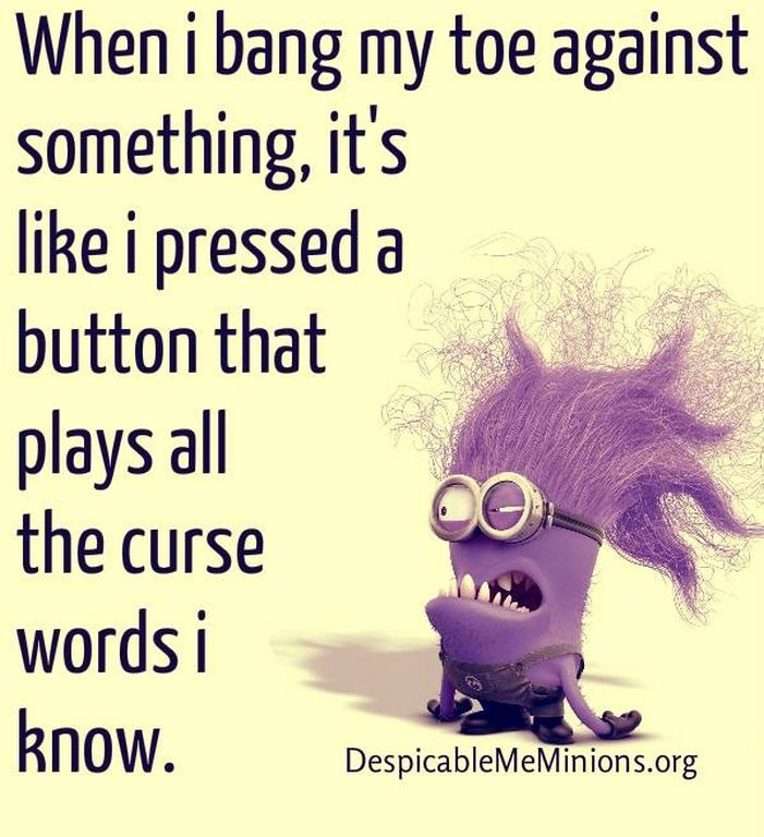 Thursday Minions Funny quotes of the day (05:44:38 PM, Thursday 19, November 2015 PST) – 10 pics