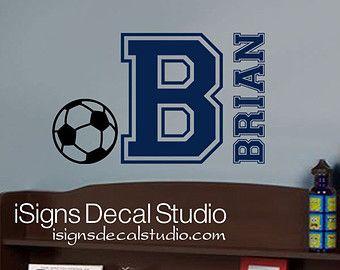 Sport voetbal muur Decal Art decoratie door VinylWallArtworks