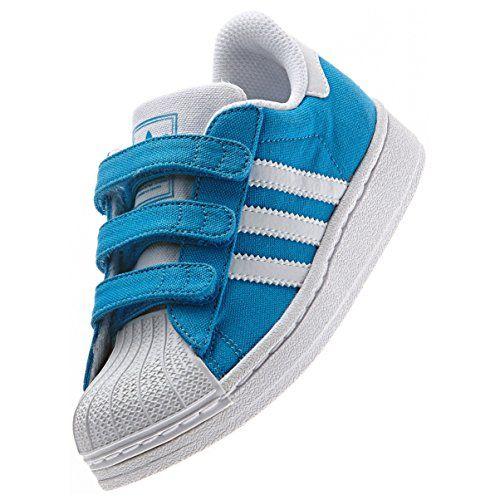 Para niños de ADIDAS SUPERSTAR 3 CF zapatos, zapatillas de deporte