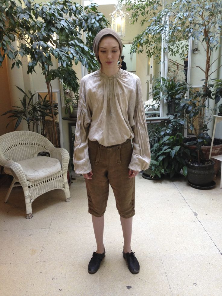 Demelza (Eleanor Tomlinson) boy costume fitting. Courtesy of Marianne Agertoft/Mammoth Screen. | Poldark, as seen on Masterpiece PBS